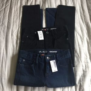 NWT Children's Place Skinny Bundle of Jeans (Boys)